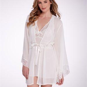 Jezebel L/XL Hela Kimono Chiffon Robe